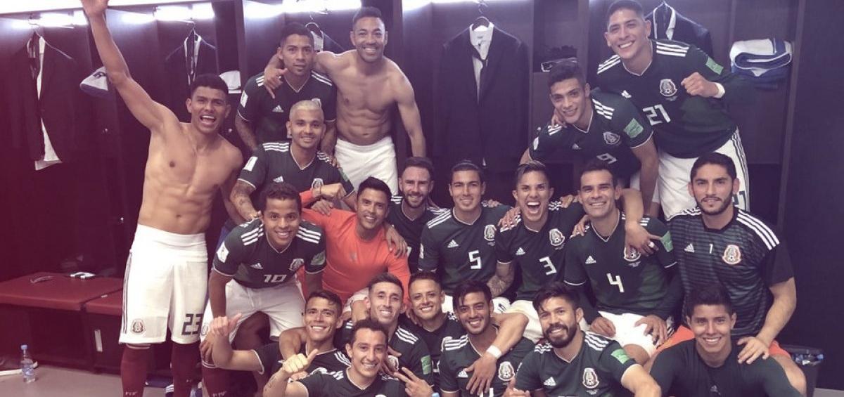 Nuestra selección mexicana en el mundial de Rusia 2018