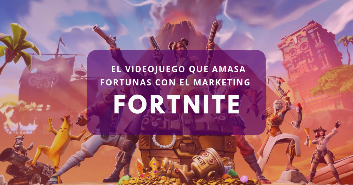 Fortnite: el videojuego que amasa fortunas con el marketing