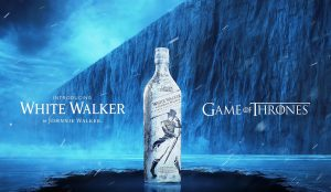 Merchandise de Johnnie Walker inspirado en Game of Thrones