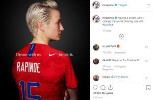 Megan-Rapinoe-Post-Instagram-Nike-BrandMe