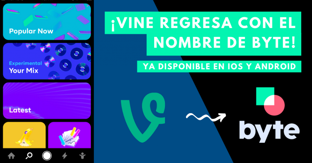 Vine-Regresa-Con-El-Nombre-De-Byte-Ya-Disponible-En-iOS-Y-Android-BrandMe-Influencer-Marketing