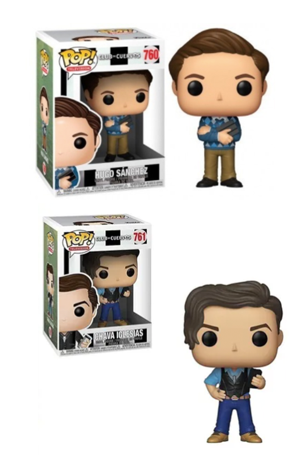 BrandMe Talent Funko Club de Cuervos