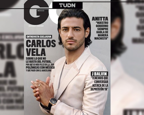 Carlos Vela Revista GQ BrandMe Talent