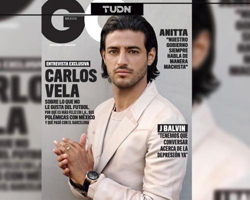 Carlos Vela Revista GQ BrandMe Talent