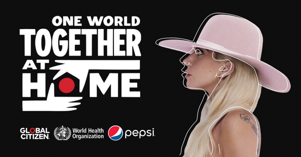 One-World-Together-At-Home-El-Mega-Concierto-Virtual-Organizado-Por-Lady-Gaga-Global-Citizen-Y-La-OMS-BrandMe-Influencer-Marketing-2